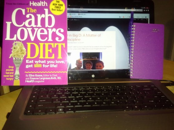 Can a carb-loving diet work? and my new 2013 daily planner